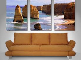 12 apostles triptych canvas print