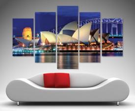 Sydney Opera House 5 split panel