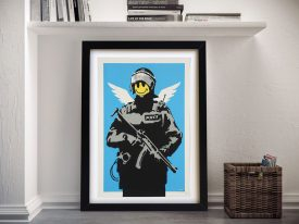 Banksy Happy Acid Soldier Wall Art
