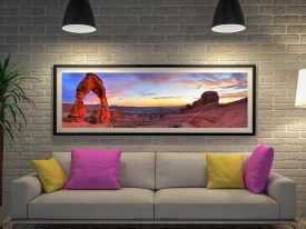Buy Delicate Arch Panoramic Wall Art