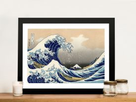 The Great Wave of Kanagawa Canvas Art Print