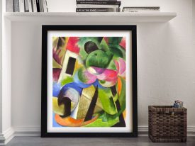 Buy Franz Marc House With Trees Abstract Wall Art