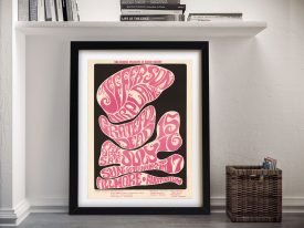 Buy a Poster Print for a Jefferson Airplane Gig
