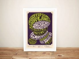 Buy a Jefferson Airplane Fillmore Concert Poster
