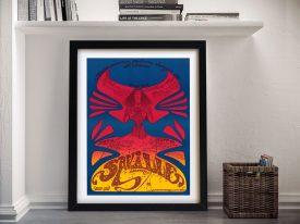 Buy a Framed Osiris Hendrix Gig Poster Print