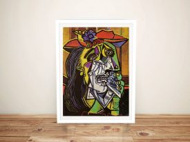 Picasso The weeping woman Art Print