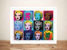 Pop Art Marilyn Monroe Wall Art by Warhol
