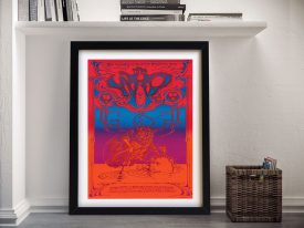 Buy a Rick Griffin Poster Print for The Who