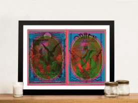 Buy a Signed Griffin & Moscoso Gig Poster Print