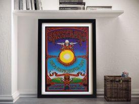 Grateful Dead Wes Wilson Poster Print