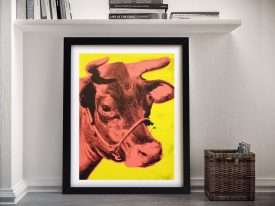 Buy Andy Warhol Yellow Cow Pop Art Picture Online