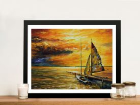Buy Leonid Afremov Canvas Artwork Prints Australia