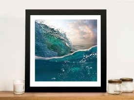 Buy a Breaking Waves No.6 Seascape Print