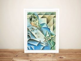Buy a Print of Homage to Pablo by Juan Gris
