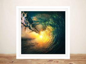 Buy a Canvas Print of Breaking Waves No.8