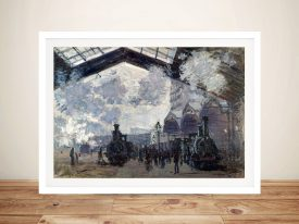 Buy The Gare St-Lazare Cheap Monet Wall Art
