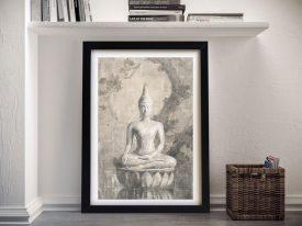 Buddha Neutral Framed Wall Art
