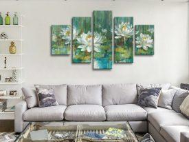 Buy a Split Diamond Water Lily Pond Art Set