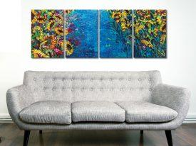 Greenville 4 Piece Iris-scott Art