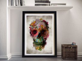 Buy Floral Glory Surreal Wall Art by Ali Gulec