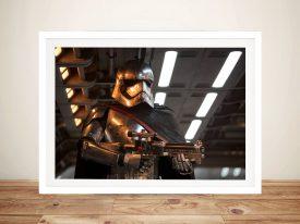 Captain Phasma Star Wars Canvas Wall Art
