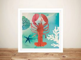 Under The Sea - Lobster Wall Prints