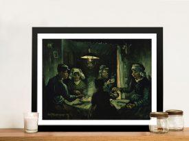 The Potato Eaters Classic Art Prints Online