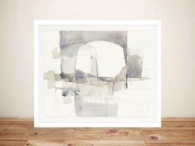Improvisation l Grey Crop Art Prints Online