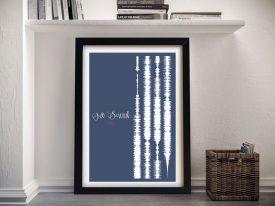 TLC Soundwaves Canvas Prints