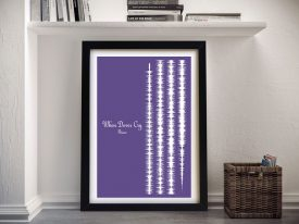 Prince Soundwave Wall Art