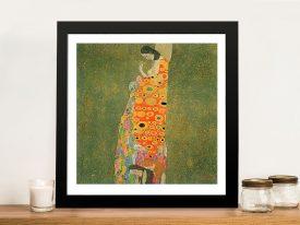 Abandoned Hope Klimt Wall Art Canvas Prints