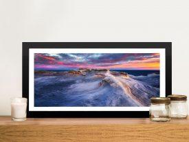Waves Coastal Framed Artwork