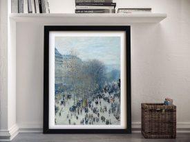 Monet Boulevard des Capucines Framed Art
