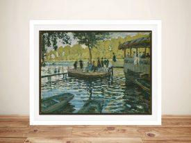 Bain à la Grenouillère Monet Wall Art