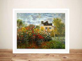 Argenteuil by Monet Classic Framed Wall Art