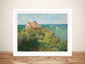 The Fisherman's House at Varengeville Wall Art