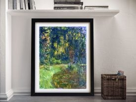 The Water Lily Pond at Giverny Framed Artwork