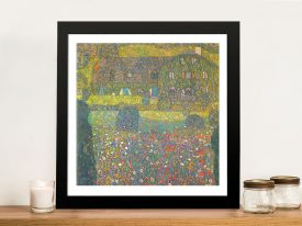 Buy House in Attersee A Classic Framed Print