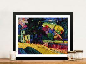 Buy Kandinsky Murnau Abstract Canvas Print