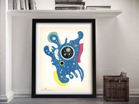Stars by Kandinsky a Framed Abstract Print