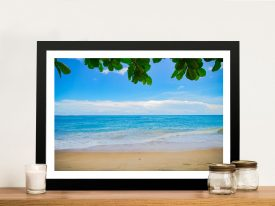 Buy Perfectly Calm Beachscape Canvas Art