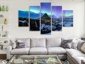 5 Piece Split Panel Diamond Art