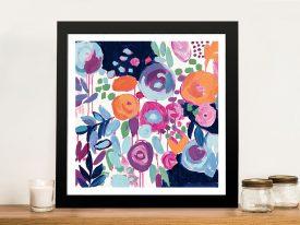 Buy a Framed Abstract Print of Garden Riot