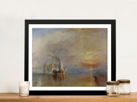 Buy The Fighting Temeraire Framed Wall Art