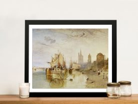 Buy Cologne The Arrival Framed Classic Artwork