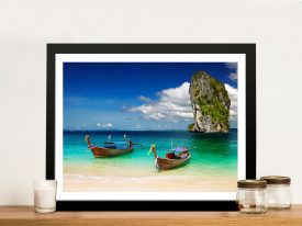 Thailand Beach Framed Wall Art