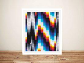 Felipe Pantone Style Abstract Wall Art Print