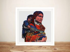 Andy Warhol Mother and Child Art Prints