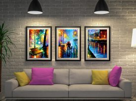 Buy Leonid Afremov Wall Art Cheap Online