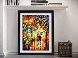 Buy Under One Umbrella Leonid Afremov Wall Art